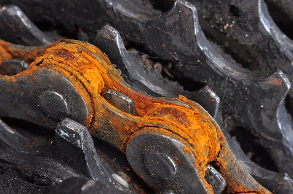 Rusty Bike Chain
