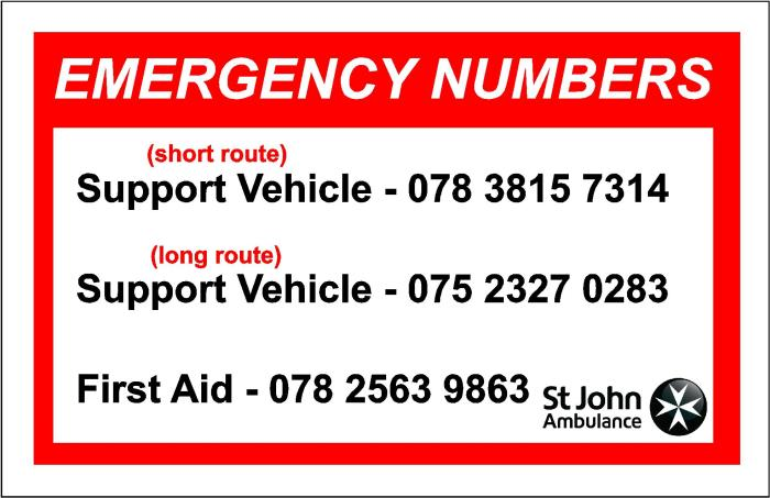 vci emergency numbers